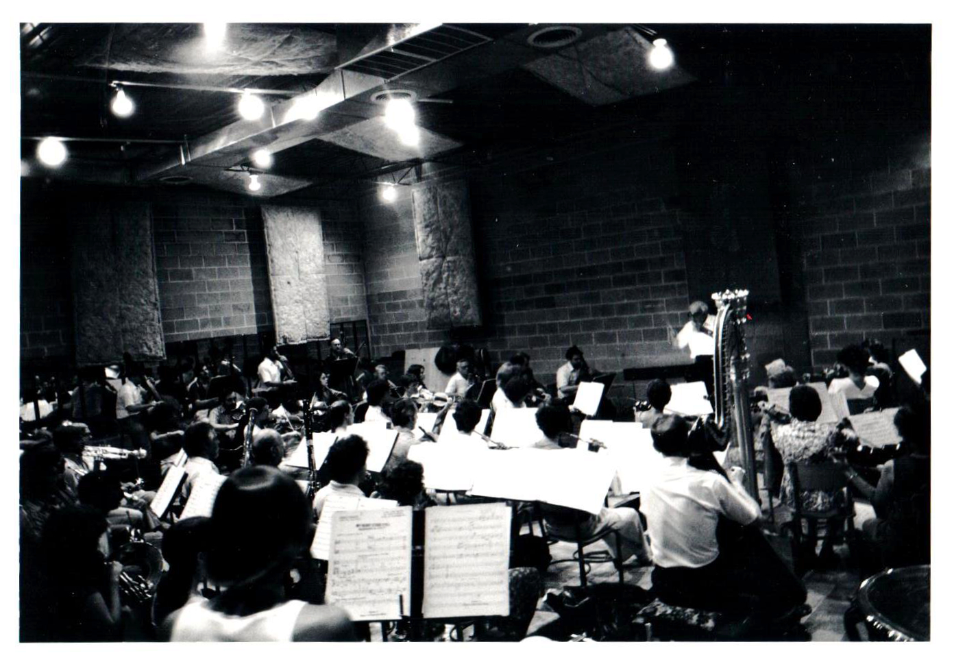 Classical Rehearsal in the new Rehearsal Space